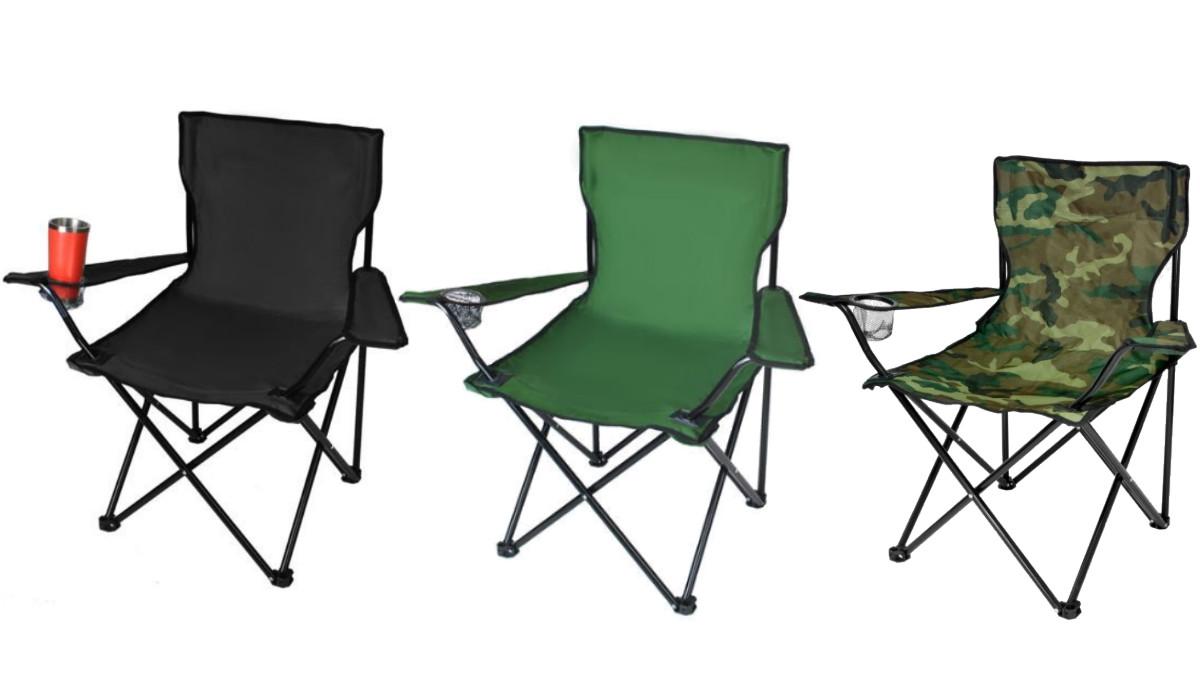 """Кресло складное для пикника и рыбалки """"Паук"""" ПОЛЬША"""