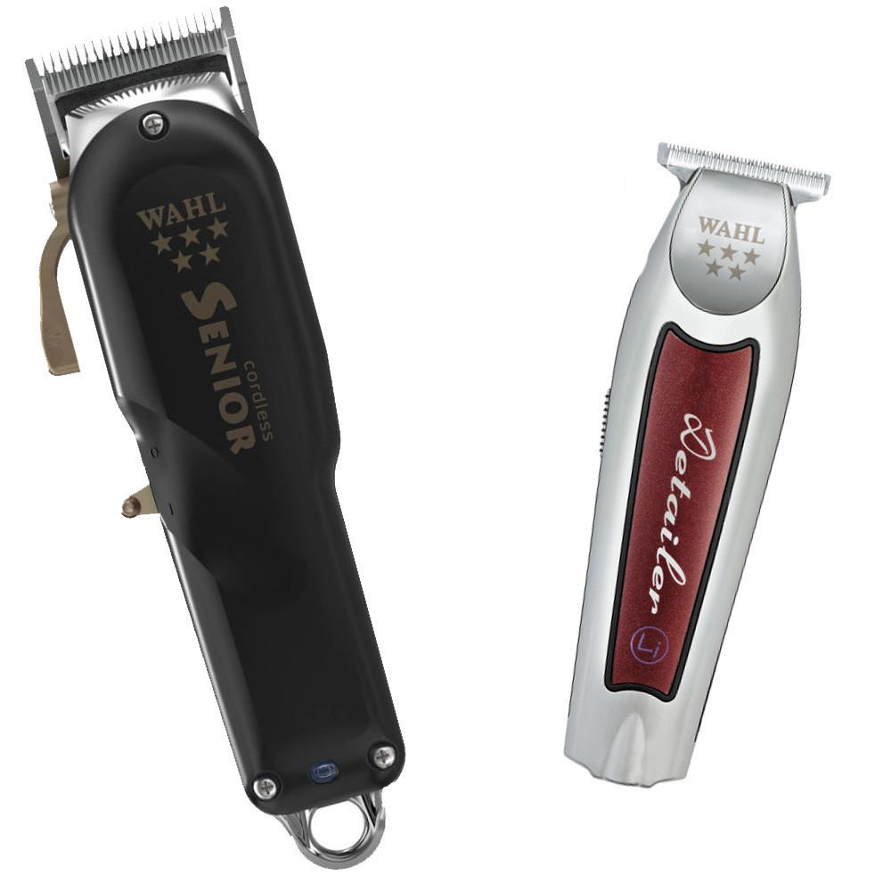 Комбо-набор Wahl Barber #1 (Senior Cordless + Detailer Wide Cordless)