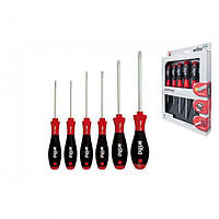 Набір викруток TORX® Tamper Resistant, SoftFinish 6 шт. 24506 WIHA