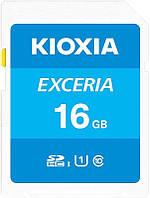 Карта памяти Kioxia Exceria 16GB Class 10 UHS-1 (LNEX1L016GG4)