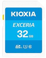 Карта памяти Kioxia Exceria 32GB Class 10 UHS-1 (LNEX1L032GG4)