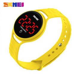 Часы светодиодные SKMEI 1230 (Yellow)