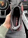 Чоловічі кросівки Adidas Yeezy Boost 350 V2 Black\Red, фото 5