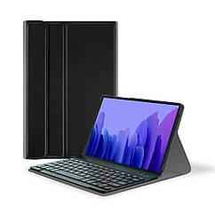 Чехол AIRON Premium для Samsung Galaxy Tab A7 T500 с Bluetooth клавиатурой Black