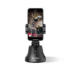 Держатель телефона 360° AirFace для TikTok, Instagram, Facebook, Zoom Black