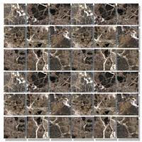 Мозаїка Полір. МКР-3П (47х47) 6 мм Dark Mix