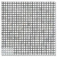 Мозаика Полир. МКР-1П (10х10) 6 мм White Mix