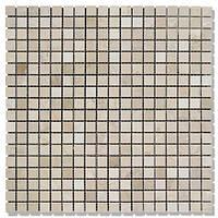 Мозаїка Полір. МКР-4П (15х15) 6 мм Beige Mix
