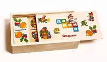 Детское домино Сказки MD 0017-1 деревянное (Сказки)