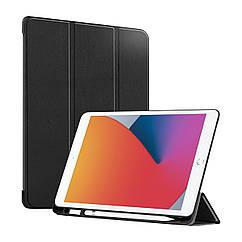 Чехол AIRON Premium SOFT для iPad 10.2'' 2019/2020 7/8th Gen и Air 3 с защитной пленкой и салфеткой Black