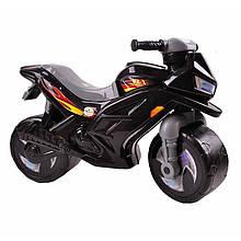 Беговел мотоцикл 2-х колесный 501-1Black Черный