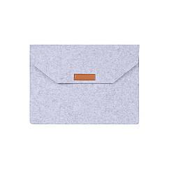 Войлочная обложка AIRON Premium для ноутбука 13.3''  Grey