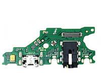 Нижняя плата Huawei P Smart Plus (INE-LX1) / Nova 3i с разъемом зарядки, наушников и микрофоном