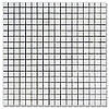 Мозаїка Полір. МКР-4П (15х15) 6 мм White Mix