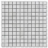 Мозаїка Полір. МКР-2П (23х23) 6 мм White Mix