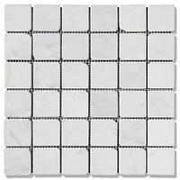 Мозаика Стар.Валт.Ант. МКР-3СВА (47х47) 6 мм White Mix