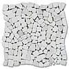Мозаїка Стар.Валт. МКР-ХСВ (хаотична) 6 мм White Mix