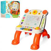 Детский игровой центр с доской для рисования 838-24 музыкальный