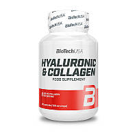 Гиалуроновая кислота и коллаген BioTech Hyaluronic & Collagen 100 caps