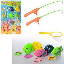 Детская игровая Рыбалка M 0044 удочки с магнитом