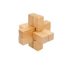 Головоломка MD 2056 деревянная (Крест MD 2056-5)