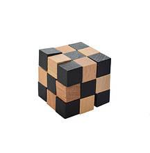 Головоломка MD 2056 деревянная (Кубик-змейка MD 2056-11)