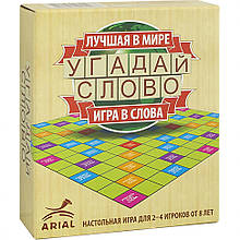 Настольная игра Угадай слово Arial 911067 на рус. языке