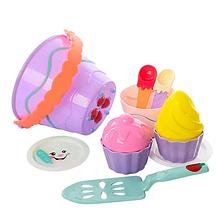 Игровой набор для песочницы 743P с формочками (Фиолетовый)