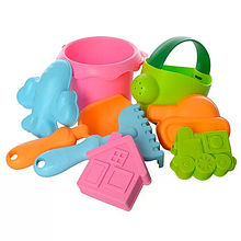 Детский игровой набор для песочницы 858-6 с лейкой