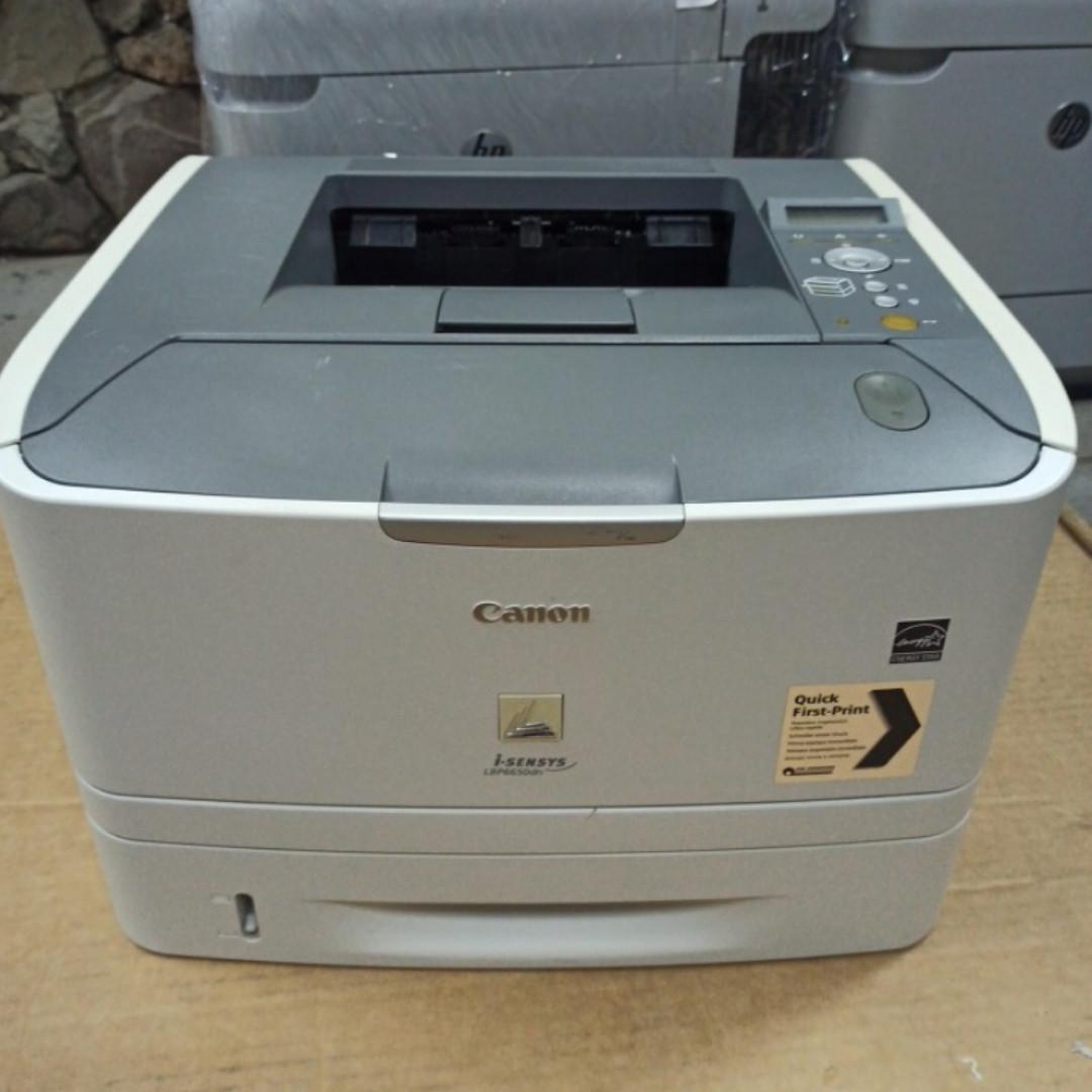 Принтер Canon i-SENSYS LBP6650 DN пробіг 32 тис. з Європи