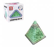 Головоломка Пирамидка лабиринт F-3 пластиковая (Зелёный)