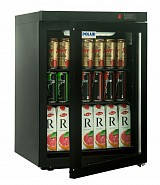 Холодильный шкаф DM102-Bravo Polair (Black) c замком., фото 1