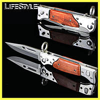 Складной нож АК-47 / Нож раскладной / Армейский нож / Нож выкидной