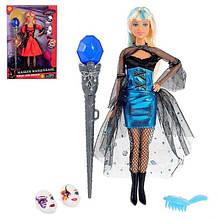 Кукла типа Барби с волшебной палочкой DEFA 8395-BF на шарнирах (Голубой)