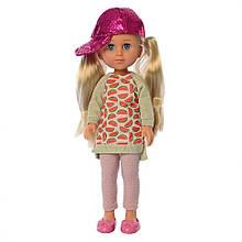 Кукла Яринка M 4480 высота 33 см (Яринка в кепке)