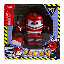 Игрушечный трансформер Robot Trains TM061-12B1, 11 см (Красный)