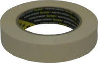 Малярная маскирующая лента (скотч) 3M 80°C, 25мм х 50м