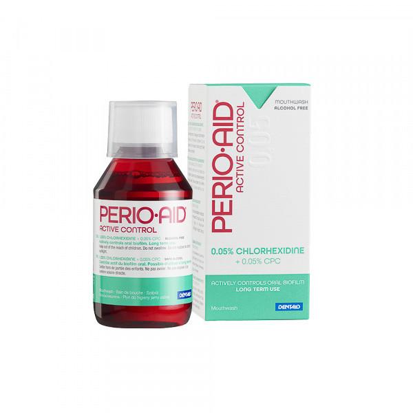Ополаскиватель PERIO-AID 0.05% ACTIVE CONTROL, 150мл