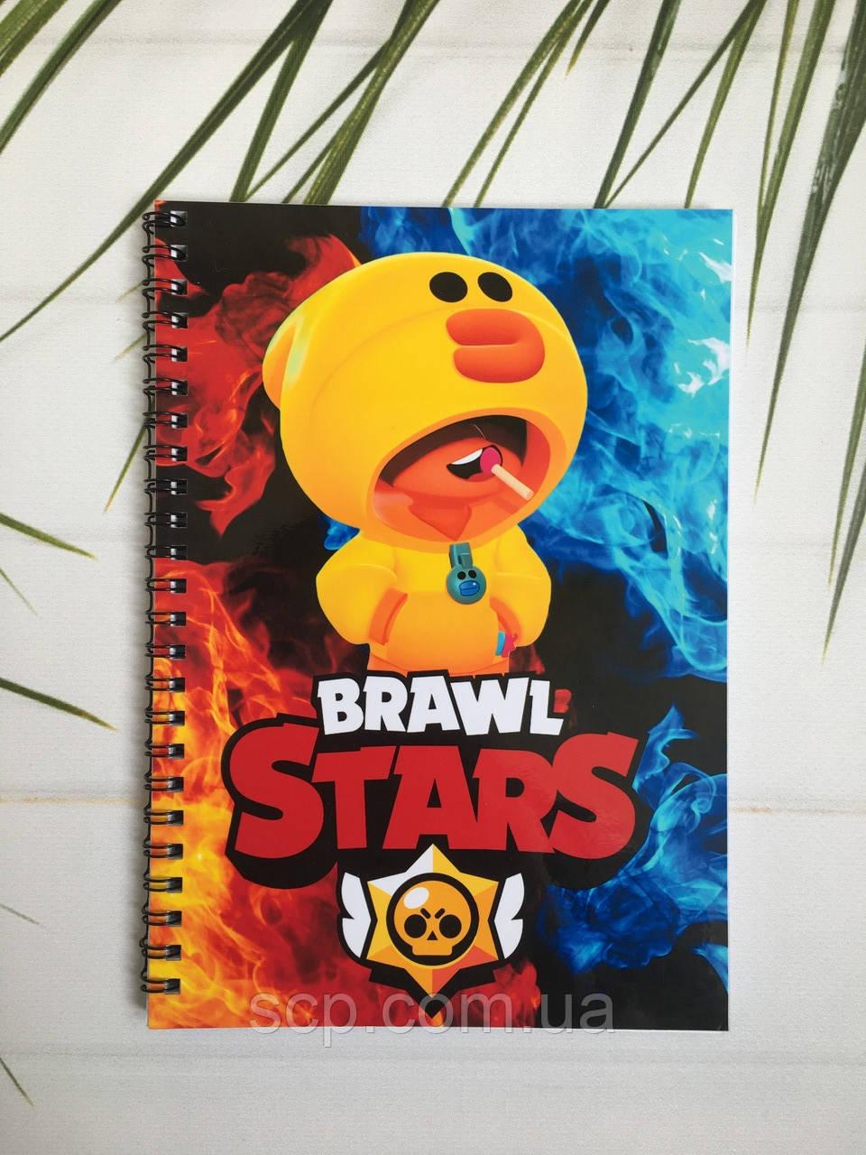 Блокнот Brawl Stars