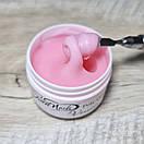 Полигель для наращивания ногтей камуфлирующий Sweet Nails Veneсia светло розовый 50 г, фото 2