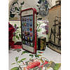 Металлическая накладка NEWSH для iPhone 5/5S Красная, фото 2