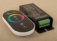RF RGB контроллер сенсорный DDH-TC5 радио, с пультом для светодиодной ленты., фото 1