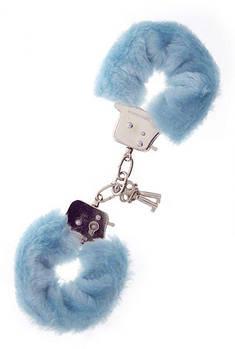 Наручники Metal Handcuff with Plush. BLUE