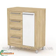 """Современная мебель для гостиной комнаты """"МГ-1 Тумба 2"""" Компанит"""