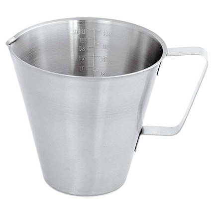 Кувшин мерный кухонный нержавеющая сталь 1 л Stalgast, фото 2