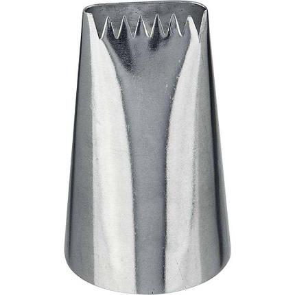 Насадка кондитерская профессиональная для кухни Лента 16x2 мм Stalgast, фото 2