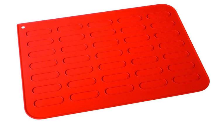Лист силиконовый для выпечки эклеров 300х400 мм Martellato, фото 2