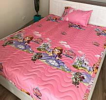 Дитяче стьобане покривало на ліжко 160*210 Софія прекрасна