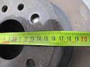 Диск тормозной задний Opel Omega B, Vectra не вентилируемый 90444513, 90445521 9915202 Opel, фото 3