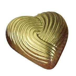 Форма для шоколада поликарбонат кондитерская профессиональная Сердце 34х33 мм Martellato